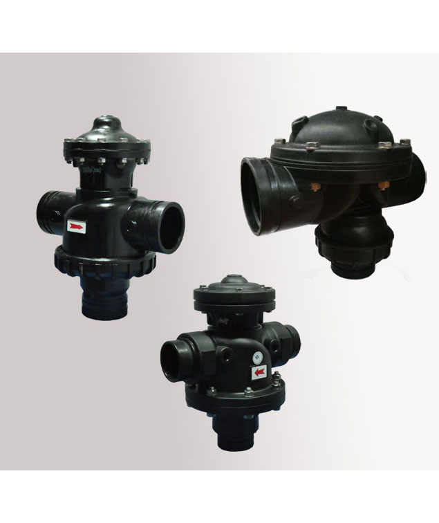 TWO-POSITION THREE-WAY VALVE